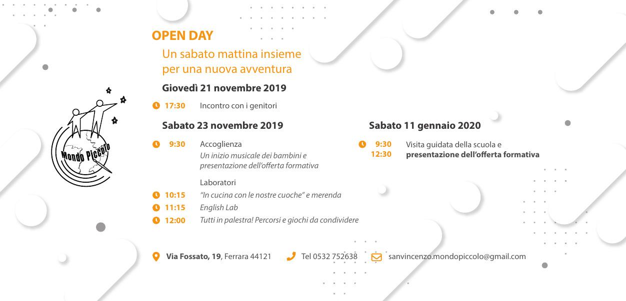 [MP-SVFE-PRI] a.s.2019-2020 - Open Day