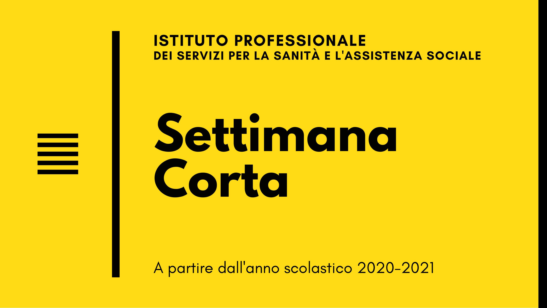 [MP-SFVR] IPSSAS Settimana Corta a.s.2020-2021