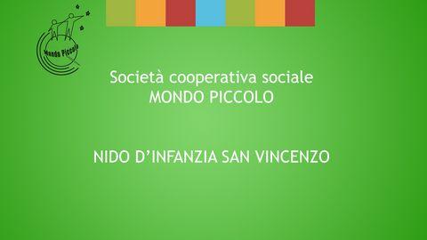MONDO PICCOLO ''0-6 ANNI'' - NIDO SAN VINCENZO - FERRARA