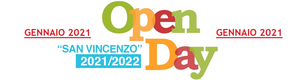 [MP-SVFE] OPEN DAY a.s.2021-2022 - Scuola SAN VINCENZO